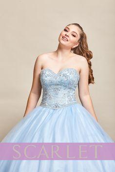d7c9e3d59 ¡Modelo SC628 es un vestido que encanta! el color y diseño hacen el vestido  perfecto! Lo quiero!! ♀ ❤  MisXV  MiVestido  QuinceAños  Scarlet