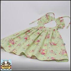 Moocuzzi Handmade Rosie Hummingbird Dress