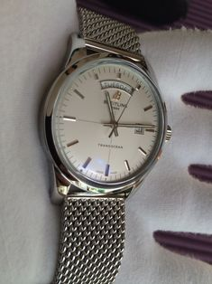 Breitling Transocean Day Date Mens Automatic Steel Watch 8f80be02206