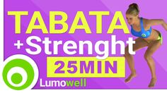 Tabata + Strength workout - High Intensity Training Exercises at Home