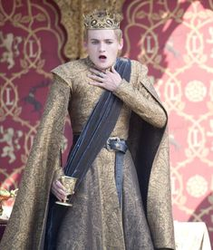 """Jack Gleeson stars as Joffrey Baratheon in """"Game of Thrones"""" (HBO Game Of Thrones Costumes, Game Of Thrones Funny, Game Of Thrones Joffrey, King Joffrey, Game Of Thrones Instagram, Villain Costumes, Geri Halliwell, Movies And Series, Outfits"""