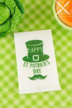 St Patrick  Miniature table Celtic Design Hand Made  1:12