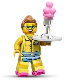 NEW Lego City Boy//Girl YELLOW MINIFIG TORSO Red Brick /& Wings White Glove Hands