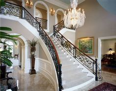 beautiful foyers | ... We Do More Than Iron Doors. We Make Beautiful Railings & a Lot More
