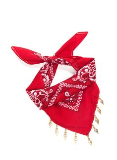 Join The Bandana Scarf Necklace RED