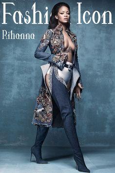Fashion Icon Rihanna