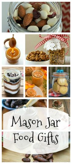 More Than 2 Dozen Mason Jar Food Gifts - recipes for mixes, snacks and treats from food bloggers