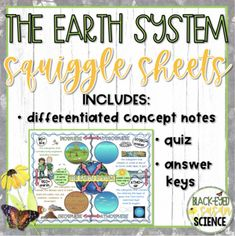 Earth's Spheres, Note Taking Strategies, Energy Pyramid, Carbon Cycle, Next Generation Science Standards, 6th Grade Science, Student Learning, Mini Books, Coloring