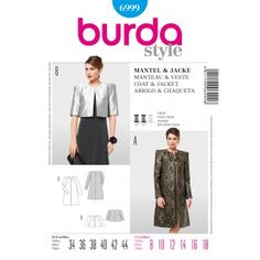 B6999 - Special Occasion - Burda Patterns