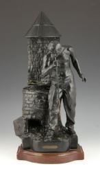 After Rousseau Metal Figural Lamp March 15th Estate Auction | Kaminski Auctions