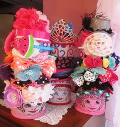 Collect them all to store your hair accessories...stores inside and out