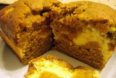 Pumpkin bread. Richard actually likes this one