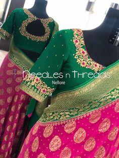 Hand Work Blouse Design, Simple Blouse Designs, Stylish Blouse Design, Stylish Dress Designs, Blouse Neck Designs, Cotton Saree Designs, Designer Blouse Patterns, Varanasi, Lehenga
