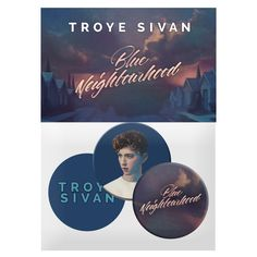 Blue Neighbourhood Button Pack