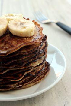 Grain-Free Banana Almond Pancakes4