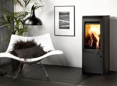 Uniq 34 Freestanding Stoves, Woodburning, Accent Chairs, Contemporary, Winter, Furniture, Home Decor, Upholstered Chairs, Homemade Home Decor