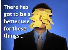 No Sticky Notes, Use a CRM