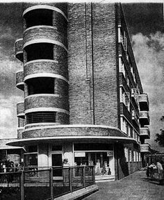 Myrtle Gardens had a+built+in+shop+for+provisions+for+the+residents. University Of Liverpool, Liverpool History, Liverpool Home, Bedford House, Bedford Street, Eaton Place, St Albans, Mount Vernon, Water Tower