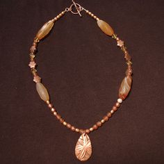 Fall Into Flowers Necklace