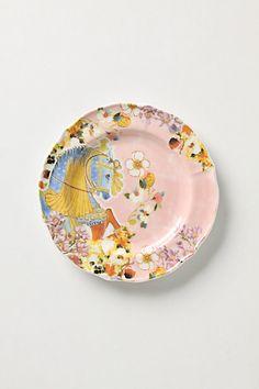 Carousel Dessert Plates #anthropologie