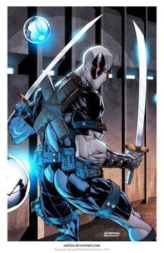 Deadpool  Name - Wade WIlson  Team - X-Force
