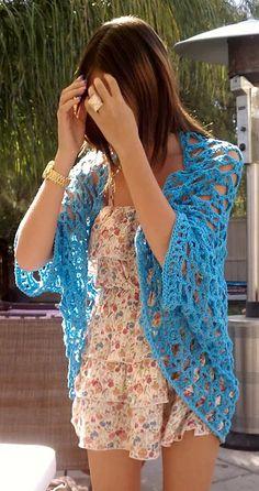Summer Shrug Crochet Pattern