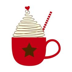 hot chocolate clip art | Cup of Hot Cocoa Clip Art Single by by kimsclipartshop ... | WInter A ...