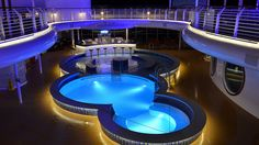 Disney Fantasy Quiet Cove Pool (adults-only), via Flickr.