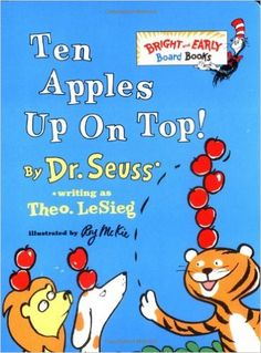Celebrating Library Week with the 10 Best Apple Books for Kids | Rainier Fruit Company