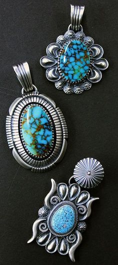 Delbert Gordon pendants from Perry Null Trading Company