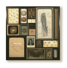 Mixed media boxes by Lisa Nilsson-Withdrawn