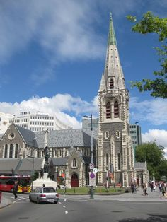 Christchurch Cathedral in Christchurch, New Zealand is no more. Damaged in 2011 earthquake New Zealand South Island, The Beautiful Country, Canterbury, South Pacific, British Isles, Hawaii Travel, Fiji, Homeland, Great Photos