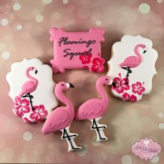 flamingo cookies on the plaque, instead of getting another damn cutter