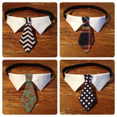 Classic Tie Cat Collar // Cat Formal Wear. $15.00, via Etsy.