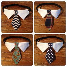 Classic Tie Cat Collar // Cat Formal Wear. $15.00, via Etsy.