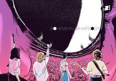 Bohemian Rhapsody by huevart Bryan Singer, Queen Albums, Freddie Mercury, Film Movie, Movie Posters, Bohemian, Films, Movies, Jewelry