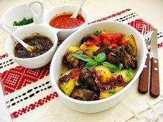 Sütőben sült fűszeres máj burgonyával- a tökéletes vacsora!