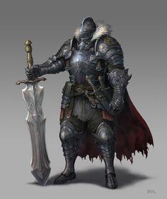 ArtStation - Knight, SUNG WOOK BAIK