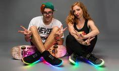 Así es como la tecnología LED está cambiando el calzado de los jóvenes
