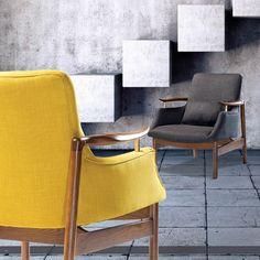 TYCHO Lounge Chair w. ash legs