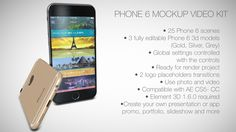 nice Phone 6 Mockup Video Kit