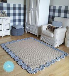 Ideas For Crochet Rug Yarn Trapillo