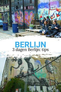 Berlijn in 3 dagen. Wil je een stedentrip Berlijn maken en ben je benieuwd wat je in 3 dagen kunt doen? Bekijk alle tips. Go See, To Go, Berlin, Just Go, Places Ive Been, Perspective, The Good Place, Travel Tips, Beautiful Places
