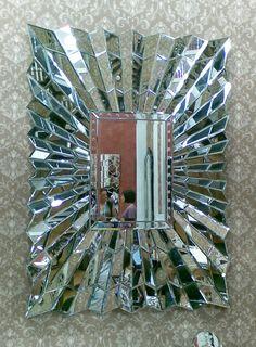 Sensa Faceted Bevelled Wave Mirror 130cm x 95cm