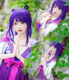 三国罗曼史官博 Cosplay Anime, Kawaii Cosplay, Cute Cosplay, Amazing Cosplay, Cosplay Girls, Cosplay Costumes, Cute Japanese Girl, Pretty Anime Girl, Pastel Goth