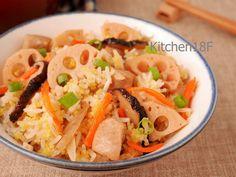 五目炊飯_電鍋料理 營養滿分