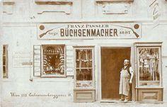 Um 1925, Büchsenmacher, Calvarienberggasse 11, Wien 17