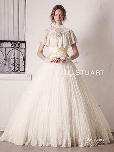 こんなドレスが着たい!JILLSTUARTの新作ウェディングドレスが可愛いすぎる♡