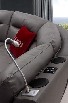Stylish Design Furniture - K8020 Modern Dark Grey Eco Leather Sectional Sofa, $1,432.00 (http://www.stylishdesignfurniture.com/products/k8020-modern-dark-grey-eco-leather-sectional-sofa.html)