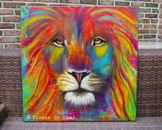 """""""Alpha and Omega"""" Original painting by Tineke de Raat, inspired by the great song of The Gaither Vocal Band. Zoom in on the eyes. Tinekederaat.blogspot.com"""